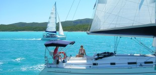 Sailing yacht training