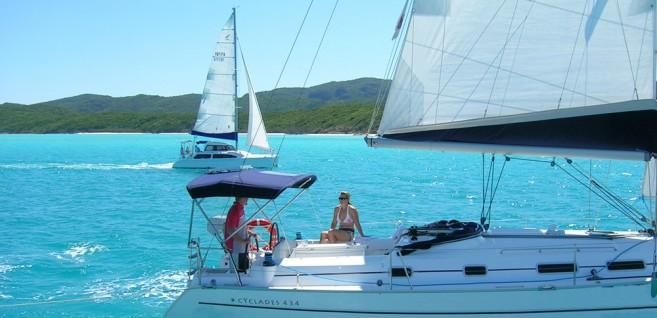 Sailing yacht training