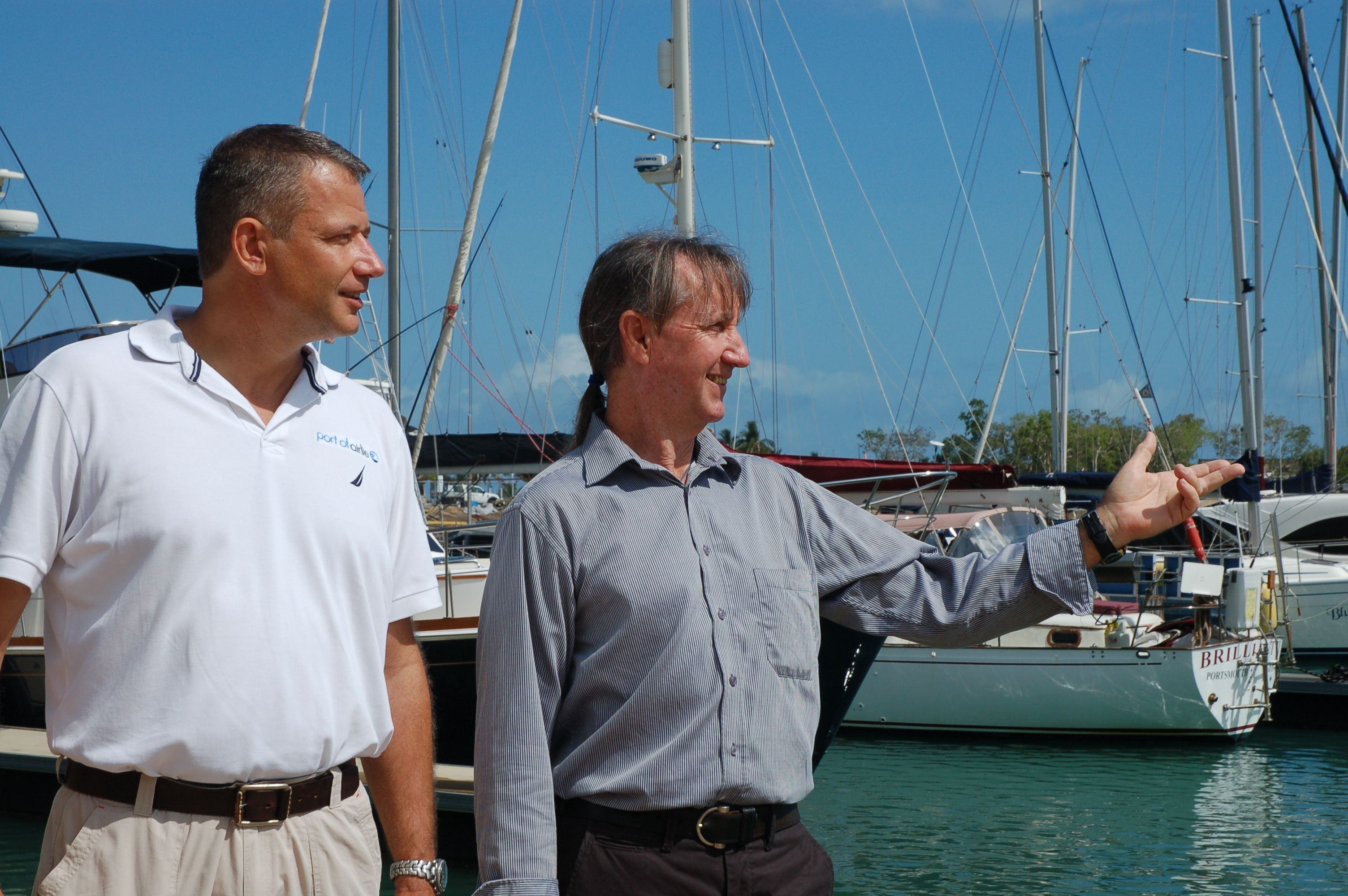 Port of Airlie officially opened